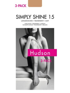 Hudson Simply Shine 15 Long Socks Triple Pack
