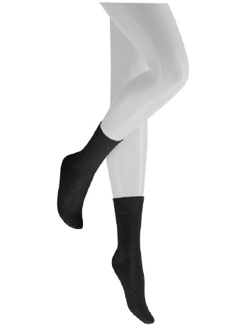 Hudson Relax WoolMix Clima Socks black