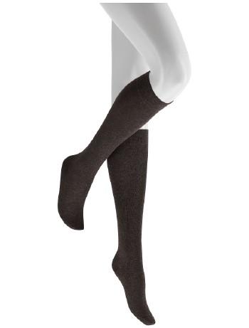 Hudson Only Knee High Socks dunkelbraunmel.