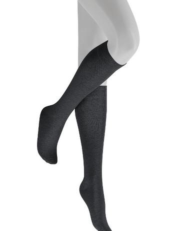 Hudson Relax woolmix Knee High Socks marengo