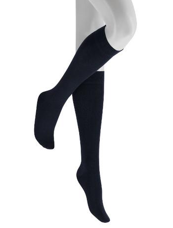 Hudson Relax woolmix Knee High Socks navy