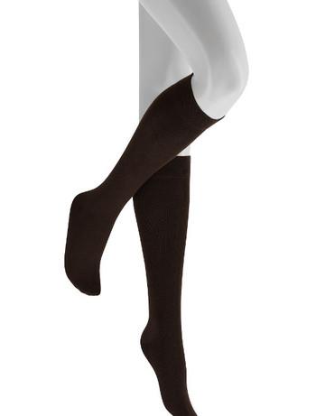 Hudson Relax woolmix Knee High Socks blackbrown