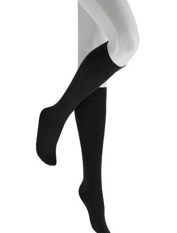 Hudson Relax woolmix Knee High Socks black