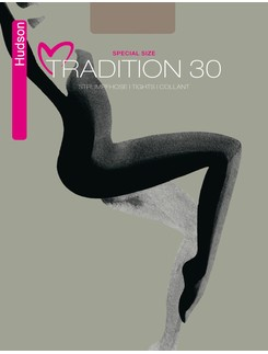 Hudson Tradition 30 Plus Size Tights