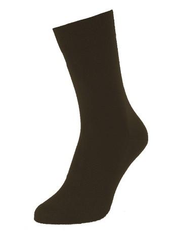 Hudson Relax Cotton Men Socks dunkelbraunmel.