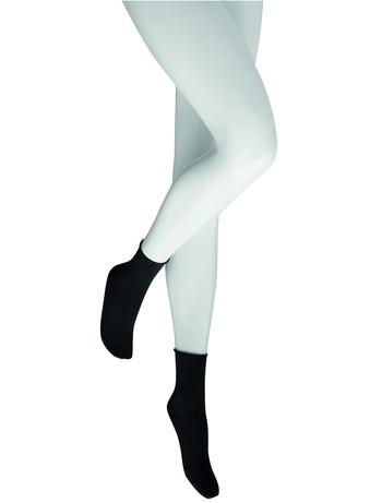 Hudson Relax Cotton Ladies Socks black