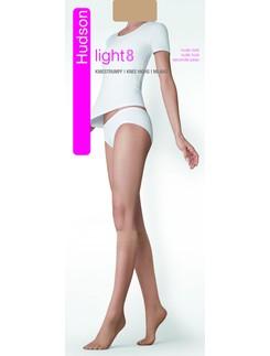 Hudson Light 8 ultra-transparent Knee-highs