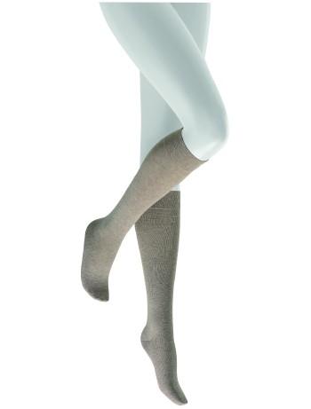 Hudson Relax Cotton Knee High Socks quinine melange
