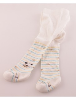 Hudson Baby Soft Plush Smiling Dog tights