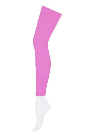 Hudson Flower Lace Children Leggings pink