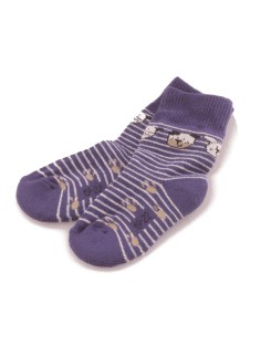Hudson Baby Smiling Dog Plush Socks