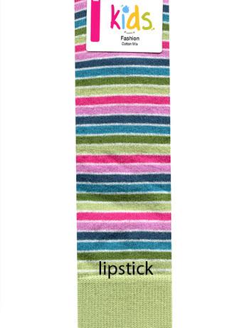 Hudson Fashion Children's Knee High Socks lipstick