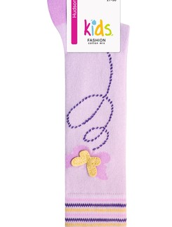 Hudson Butterfly Children`s Knee High Socks