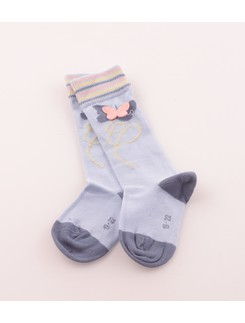 Hudson Butterfly Knee High Socks