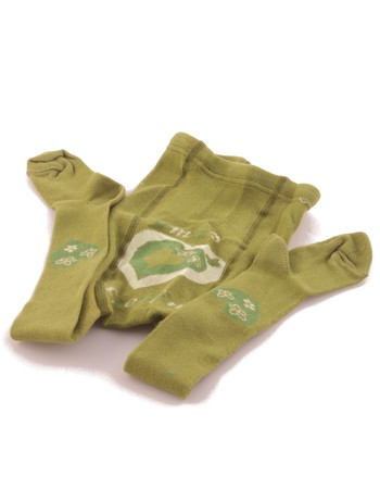 Hosieria Kiddy Tights Oma's Liebling grass green