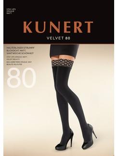 Kunert Velvet 80 Peacock Hold-Ups