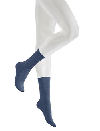 Kunert Velvet Melange Socks pale-indigo