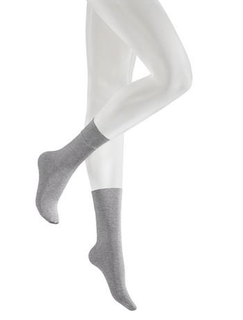 Kunert Velvet Melange Socks grey