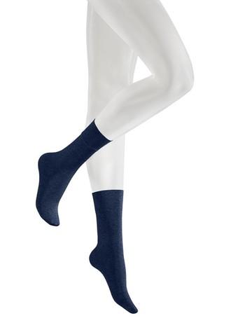 Kunert Velvet Melange Socks navy