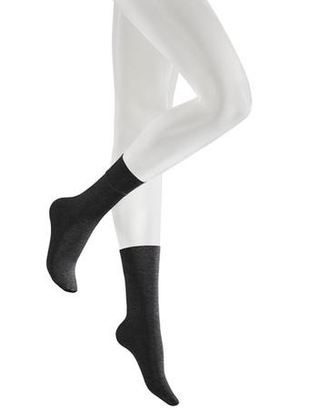 Kunert Velvet Melange Socks black