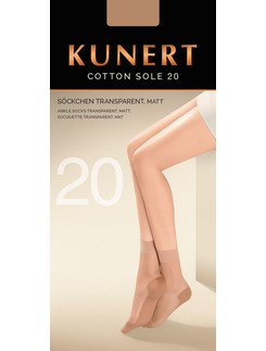 Kunert Cotton Sole 20 Fine Socks