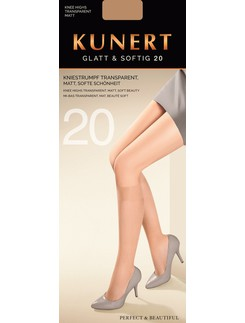 Kunert Glatt & Softig 20 Knee-Highs