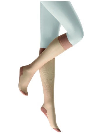 Kunert Cotton Sole 20 Knee-Highs cashmere