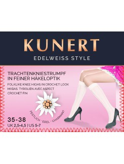 Kunert Edelweiss Style Ladies Knee High Socks