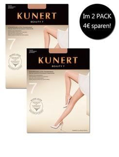 Kunert Beauty 7 Tights Ultra Transparent Pack of 2