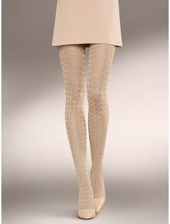 Kunert Silky crochet pattern tights