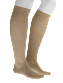 Julius Kunert Fly & Care Men's Compression Cotton Knee High Sock