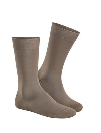 Kunert Clark Socks taupe brown