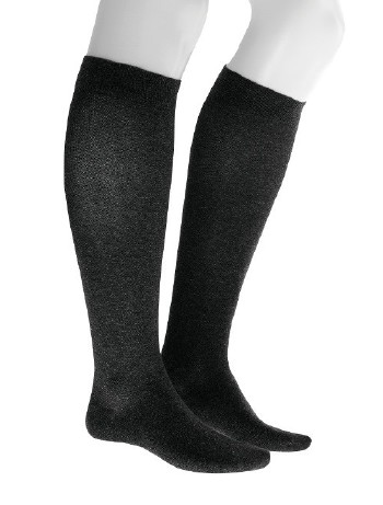 Julius Kunert Fly & Care Men's Compression Knee High Socks black