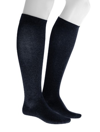 Julius Kunert Fly & Care Men's Compression Knee High Socks navy