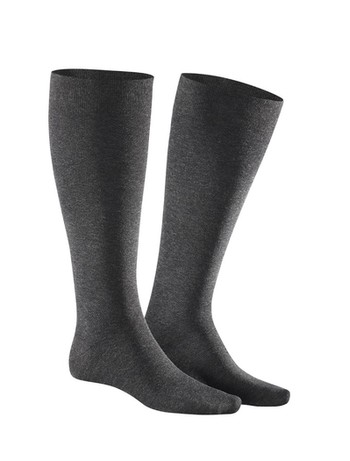 Julius Kunert Fly & Care Men's Compression Knee High Socks anthrazit mel.