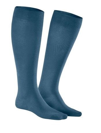 Julius Kunert Fly & Care Men's Compression Knee High Socks nautic
