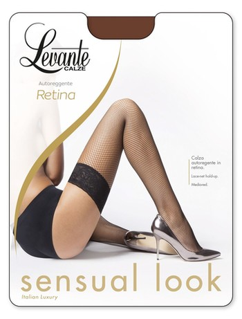Levante Retina 20 Fishnet Hold-Ups