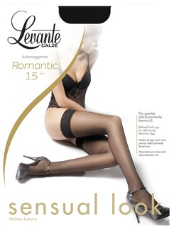 Levante Romantic 15 Stay-Ups