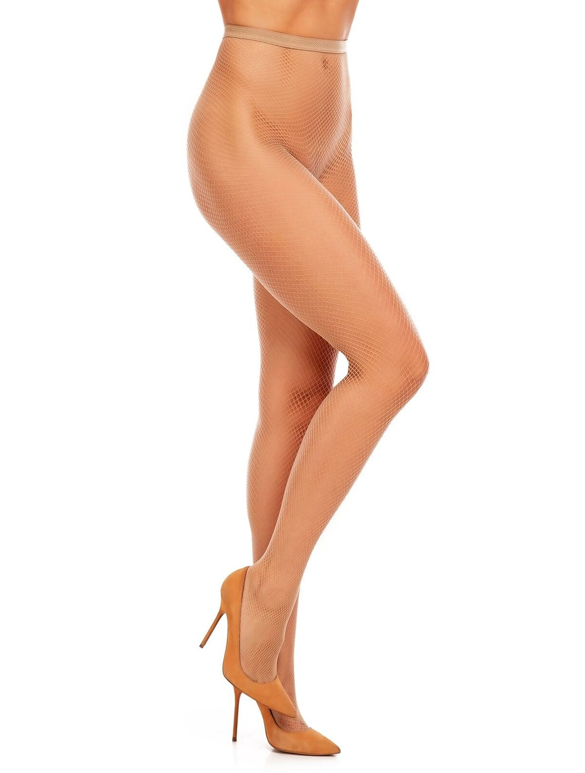 afec17faeb9 ... Levante Rete Fishnet Tights naturel