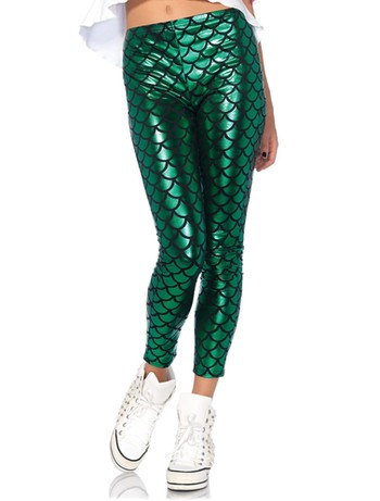 Leg Avenue Mermaid - Leggings green