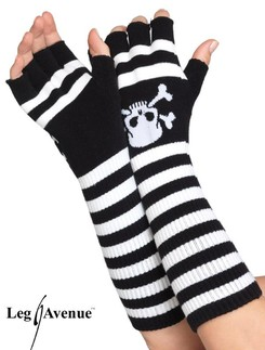 Leg Avenue Acrylic Elbow Length Fingerless Gloves