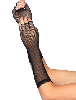 Leg Avenue Micro Net fingerless Gloves