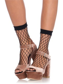 Leg Avenue Diamond Net Net Anklets