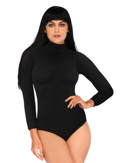 Leg Avenue High Neck Bodysuit with Snap Crotch