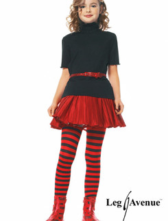 Leg Avenue Girls Stripe Tights