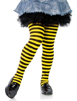 Leg Avenue Girls Stripe Tights