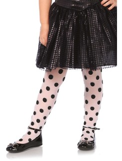 Leg Avenue Children's Polka Dot Tights