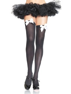 Leg Avenue Satin Bow opaque Hold-Ups