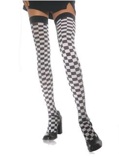 Leg Avenue Checkerboard Hold-Ups