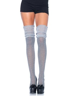 Leg Avenue Over The Knee Scrunch Sock